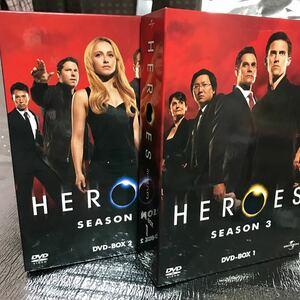 HEROES/ヒーローズ シーズン3 DVD−BOX 1/マイロヴィンティミリアヘイデンパネッティーアマシオカ 2 完全セット