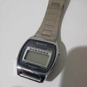腕時計 SANYO デジタル腕時計