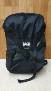 リュック BACH バッハ itsy-bitsy バックパック リュックサック デイバッグ メンズ鞄 黒 ブラック ナイロン ベルト調節可能