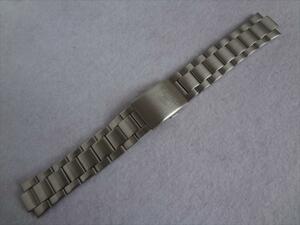 Seiko 5 純正 腕時計 バンド 7S26-02T0 用 ステンレスベルト