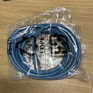 インターネットケーブル CAT5e 3メータル 青