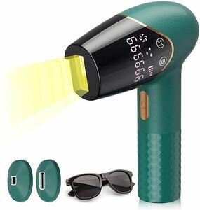 脱毛器 家庭用 フラッシュ式 光美容器 99万回照射 乾燥機