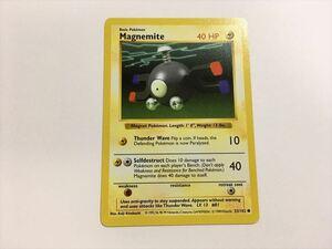 N110【ポケモン カード】 英語版 海外 Magnemite コイル 53/102 旧裏面 美品