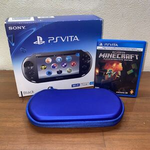 PlayStation Vita Wi-Fiモデル マインクラフト&ケース付き