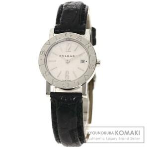 BVLGARI ブルガリ BB26SLD ブルガリブルガリ 腕時計 ステンレススチール 革 レディース 中古品