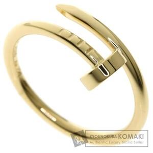 CARTIER カルティエ ジュストアンクル SM #50 リング・指輪 K18イエローゴールド レディース 中古品