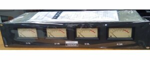 (( one months guarantee )) rare rare CURRENT CSP153A/R used operation goods 4ch VU meter regular price 248,000 jpy operation goods