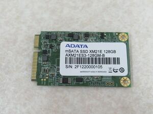 ・XC1 13339◆保証有 ノートパソコン用 mSATA SSD 128GB ・祝10000!取引突破!!