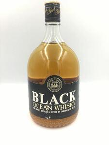 三楽オーシャン ブラックオーシャン ウイスキー 従価 1級 1920ml alc40% OCEAN 古酒 三楽 メルシャン