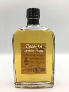サントリー ウイスキー リザーブ スキットボトル 300ml alc43% オールドボトル 古酒 SUNTORY