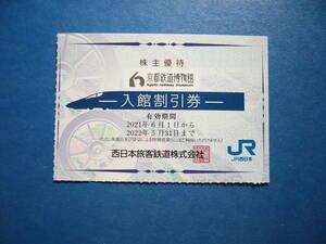 京都鉄道博物館 入館割引券