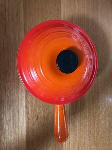 ル・クルーゼ  ソースパン 18cm オレンジ