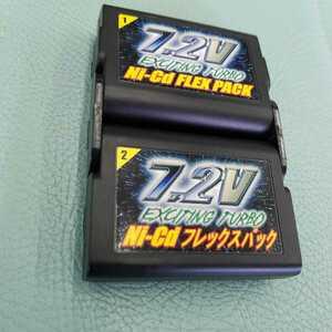 タイヨー 7.2ニッカドフレックスパック バッテリー 充電式電池のみ R/C Ni-Cd FLEXPACK ラジコン CR250R YZ250 ビートチェイサー2000