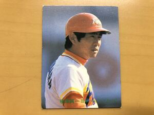 カルビープロ野球カード 1982年 柏原純一(日本ハム No.404