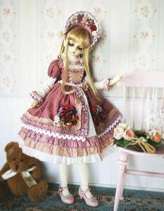 アウトフィット ドレス ドール 人形 bjd 1/3 SD