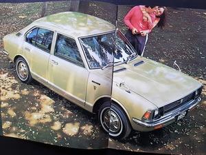 トヨタ カローラ 1100 KE10 1400&1200 TE20/KE20 セダン クーペ 当時物カタログ 2点セット!☆ TOYOTA COROLLA 国産車 絶版 旧車カタログ