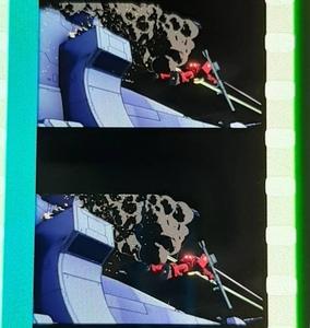 送料込★フィルム「シャア専用ザク(動き有り)」閃光のハサウェイ 入場特典3週目★コマフィルム 機動戦士ガンダム THE ORIGIN 機体 赤い彗星