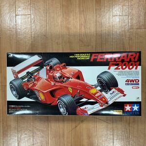 タミヤ電動RC /10RC フォーミュラ1レーシングカー フェラーリF2001 ●RS-540スポーツチューンモーターつき