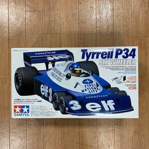 タミヤ 1/10電動RC フォーミュラ1レーシングカー タイレル P34 シックスホイラー