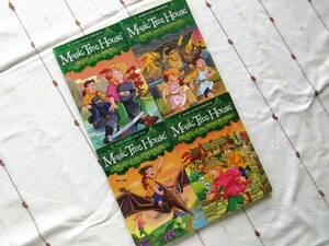 洋書 Magic Tree House 4冊セット マジックツリーハウス おうち英語 多読 児童書 チャプターブック