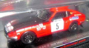 【Ma】SP☆1/43 S6280 ダットサン Datsun 240 Z No.5 3rd Monte Carlo Rally 1972R. Aaltonen - J. Todt