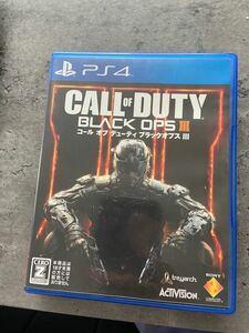 コールオブデューティ ブラックオプス3 PS4 ソフト