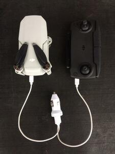 DJI Mavic mini マビック ミニ専用急速充電ケーブルシュガライター用!