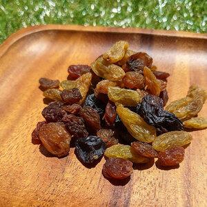 【BI】 ミックスレーズン 100g 栽培期間中 農薬不使用 レーズン グリーン レーズン 緑レーズン ドライフルーツ 砂糖不使用 無添加 ふどう