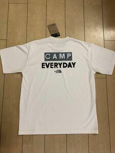 ノースフェイス 直営店購入 S/S Camp Everyday Tee VW 白 キャンプエブリデイ THE NORTH FACE 半袖Tシャツ 新品 正規品 送料無料