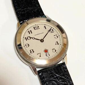 希少 FORTIS フォルティス HARWOOD 1926 ハーウッド 復刻モデル シルバー925 銀無垢ケース メンズ 腕時計 名作 オートマチック 美品