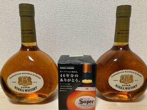 スーパーニッカ 復刻版 2本 グラス付き