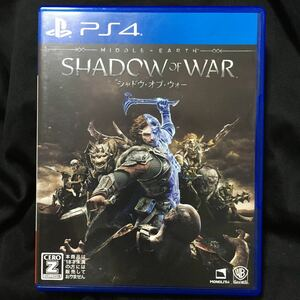 【PS4】 シャドウ・オブ・ウォー [通常版]送料無料、匿名配送、当日発送可能♪