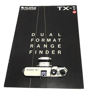 1 jpy [ accessory only ] FUJIFILM TX-1 catalog film camera Fuji film