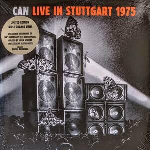 Can カン - Live In Stuttgart 1975 ダウンロード・コード付き限定三枚組オレンジ・カラー・アナログ・レコード
