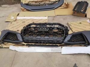 ★NEW AUDI 初代 アウディ・Q8 RSQ8タイプ キット フロントバンパー オーダーメイド 純正タイプ