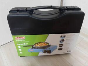 コールマンコンロ カーセット式ポンペイキャリーケース付き Portable Butane Stove /卓上/防風