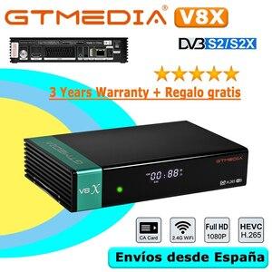 GTMEDIA-V8X衛星テレビ受信機,DVB-S2X P,GTMEDIA V8 NOVA V9 PRIME V8 HONOR,統合WI-FI,1080,アプリケーションなし