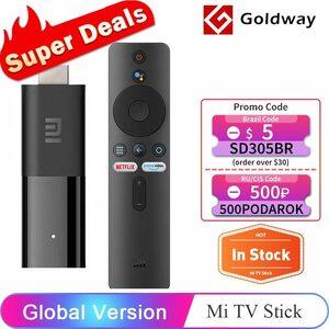 グローバルバージョン MIテレビスティックアンドロイドテレビ9.0スマート1080 1080P 1ギガバイト RAM 8ギガバイトROM BLUETOOTH 4