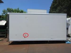 ♪物置♪コンテナ♪手頃♪アルミ冷蔵箱♪千葉SA87♪