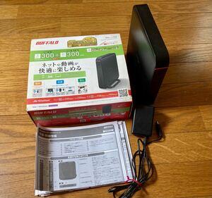 【中古】無線LANルータ BUFFALO WHR-600DHP3 ネットワーク