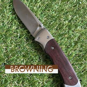 BROWNING #002 Folding Knife ブローニング 折りたたみナイフ