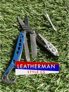 LEATHERMAN STYLE CS Blue レザーマン マルチツール ハサミ