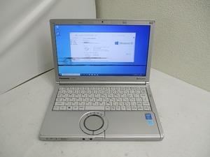 ☆Panasonic Let's note CF-NX3 Core i5 4310U 2GHz 4GB 320GB 12.1インチ WUXGA 1600×900 Windows10 Pro 64bit 即決!