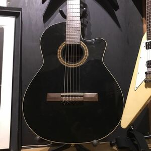 Godin La Patrie Guitar Hybrid CW Black QII クラシックギター アコースティックギター エレガット ピエゾ ゴダン