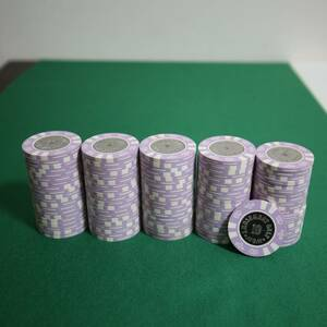 【$10】送料込 美品 新品同様 カジノチップ マツイ MGM ルーレット ブラックジャック バカラ ポーカー POKER コイン 金属 CC.210-D casino
