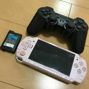 SONY PlayStation コントローラー PSP ピンク ジャンク品 ソニー
