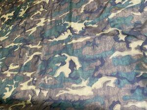 限定品 ベトナム ERDLリーフパターン ブラウンリーフ 155cm幅×1m ベトナム戦争 米軍 US 迷彩柄 迷彩布地 迷彩生地