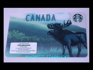 スターバックス・カード●北米●カナダ限定 2019●ムース●海外スタバ