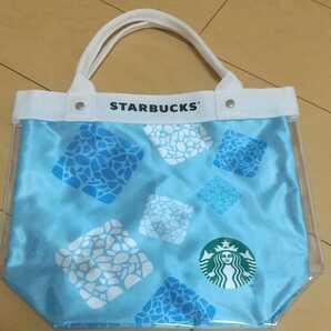 【新品】 スターバックス クリアトートバッグ Starbucks/ネスレ限定品/サマーコレクション2021
