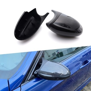 BMW M3 style side door mirror cover high endurance ABS resin made E87/E81/E82/E88/E90/E91/E92/E93 carbon fibre color